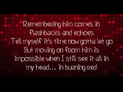 not much of a ts fan but the lyrics make me think of you.... Taylor Swift - Red (Lyrics Video) + Free mp3 download!
