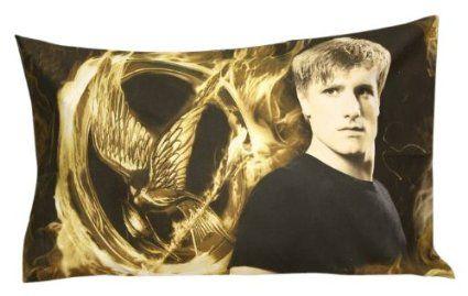 "The Hunger Games Movie Pillowcase ""Peeta"""