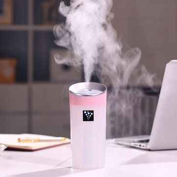 $15.76  Cup Shape Mini USB Air Humidifier Aromatherapy Diffuser Mist Maker Car Air Purifier 4 Colors - NewChic