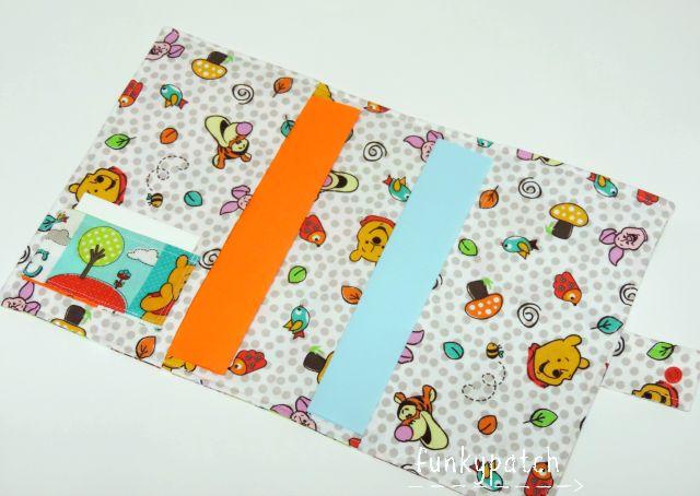 Tutorial: porta-documentos para bebes Tutorial: fabric folder for the baby documents