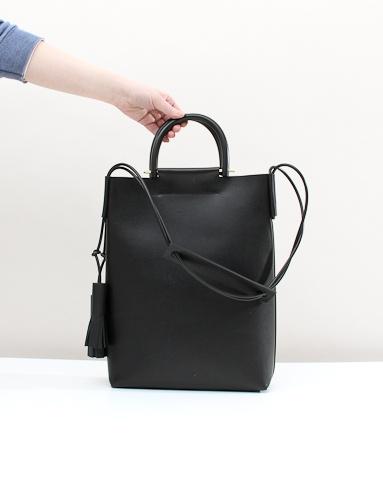 Building Block Should Strap Handle Bag - Black