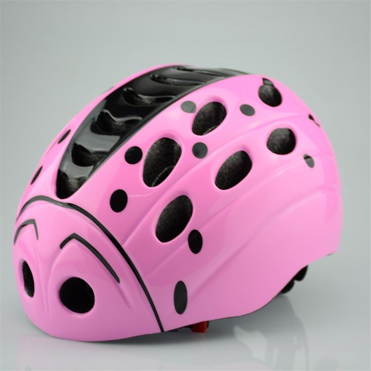 Cartoon Children Bicycle Helmets Kids Roller Skating Cycling Ultralight Integrally-molded Boy Girl Bike Helmet