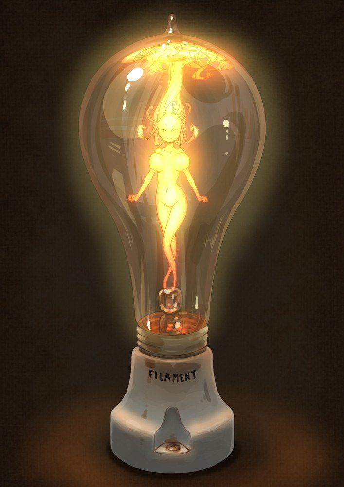 Лампа прикольная картинка