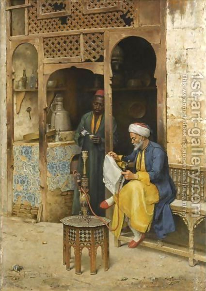 Cairo Painting Reproductions - Keyword - Handmade Oil Paintings ... www.1st-art-gallery.com425 × 600Buscar por imagen Arthur von Ferraris: The Coffee House, Cairo لوحات شرقية - Buscar con Google