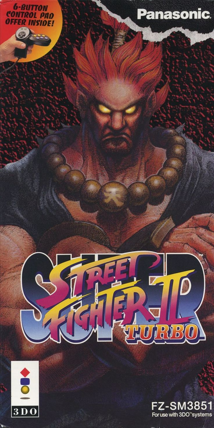 Super Street Fighter II Turbo for 3DO (1994) - MobyGames