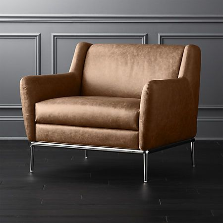 Alfredchaircognacleathershs18 1x1 Leather Chair Leather