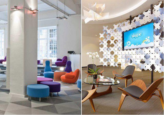 17 mejores im genes sobre oficinas creativas en pinterest for Decoracion de oficinas creativas