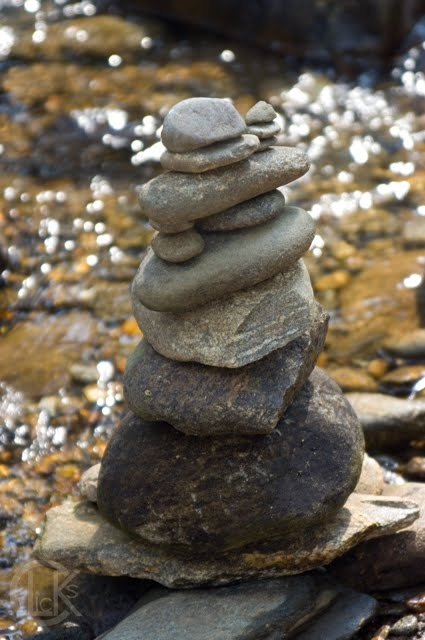 A cairn (carn in Irish, carnedd in Welsh, càrn in Scots Gaelic) is a human-made pile of stones, often in conical form. They are usually built as landmarks or as memorials. photo by C.L. Kunst