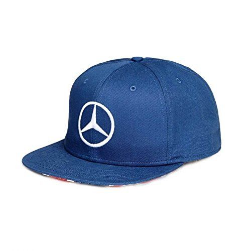 Support Lewis on his home turf! The 2016 Lewis Hamilton Silverstone GP Cap is now availabe for purchase. Details: Blue flat brim cap with Union Jack print under brim, snapback closure and Lewis' logo
