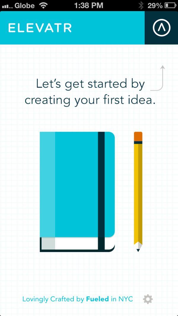 Flat Design app examples