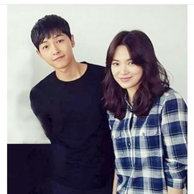 BTS DotS mid-series press con ~ OTP leads looking pretty #descendants of the sun #song joong ki #song hye kyo