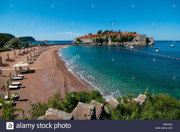 Beach at the luxury resort #SvetiStefan  #luxury #lifestyle #travel #beach