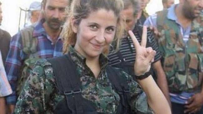 Claims famous Kurdish Peshmerga fighter Rehana may have been decapitated