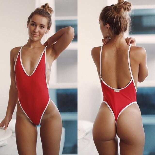Summer Women One piece Swimsuit Plus Size Boob Tube Top Elastic Ribbon Beachwear Pour Color Swimwear