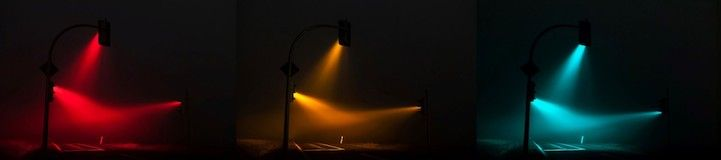 Enchanting Traffic Lights Glow in Foggy Germany - My Modern Metropolis