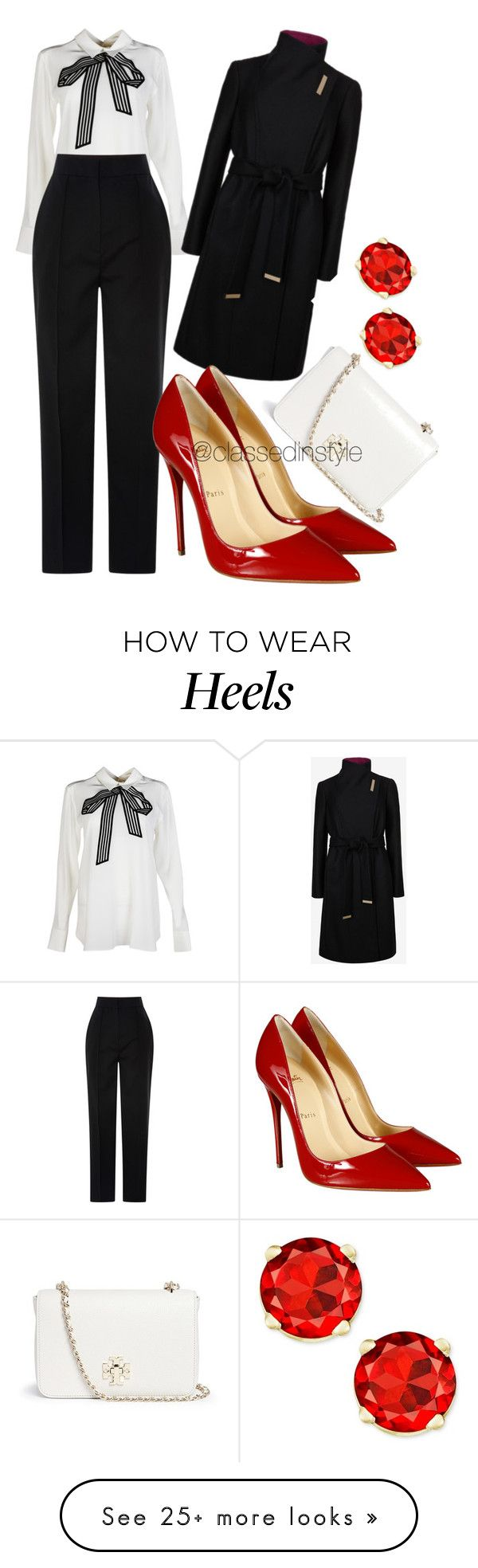 """Untitled #99"" by mama-liciuos on Polyvore featuring STELLA McCARTNEY, Ted Baker, Vika Gazinskaya, Christian Louboutin and Tory Burch"