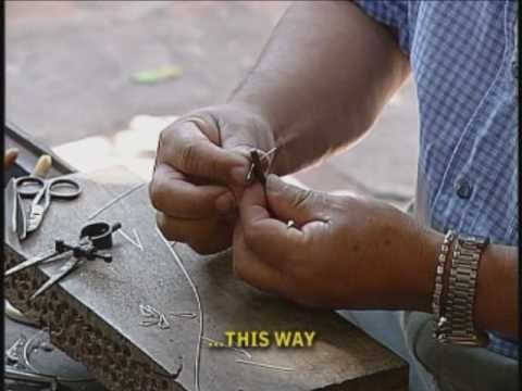Silver Paths The art of Filigree - YouTube