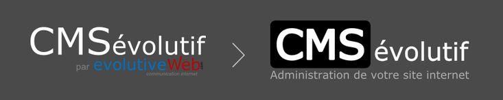 Avec le nouveau design du site internet présentant notre outil d'administration de sites internet, nous en avons profité pour mettre en avant le nouveau logo du CMSévolutif : http://www.cms-evolutif.com/actualites/articles/nouveau-logo-pour-le-cmsevolutif-4.html
