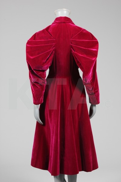 Elsa Schiaparelli 1890-1973 Italy - evening coat (back) late 1930s