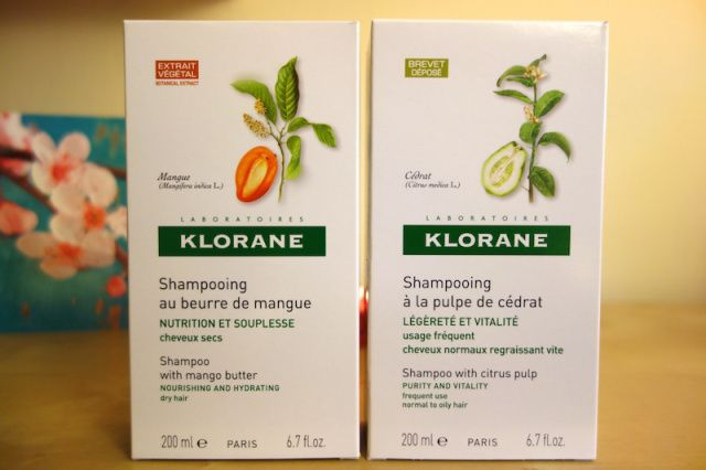 Klorane Mango Butter and Citrus Pulp Shampoos Review