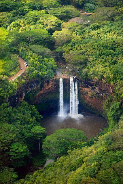 Wailua Falls - Lihue, Kauai, Hawaii. #Vacation