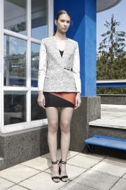 14'SS lookbook #fashion #fibula #fibulafashion #fibuladesign #womanswear #womansfashion #fischervilla #moholynagylaszlo #asymmetric #layers #springsummer #soiessentielle