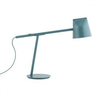 Normann Copenhagen - Mormento LED Schreibtischleuchte - weiß/H x B x T: 44 x 51 x 16.5cm