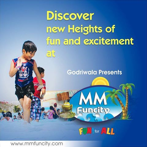 "Discover new heights of fun and excitement at ""MM Funcity"". For More: https://goo.gl/Su9dWZ #MMFUNCITY #Excitement #Chhattisgarh #Raipur"
