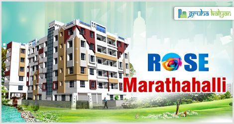 GruhaKalyan ROSE at Marathahalli, Lowest Price in Bangalore 1,2 & 3BHK Flats/Apartments Available Price Starts from 15.30 Lakhs Onwards.