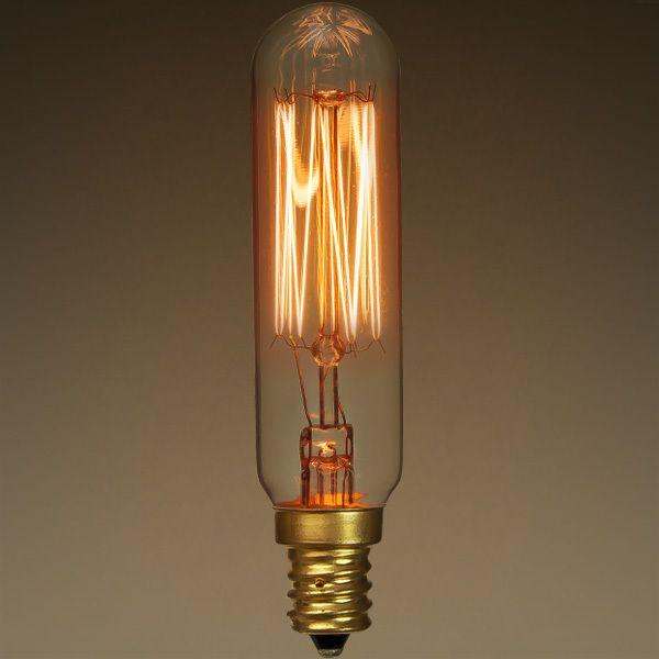 25 Watt Vintage Antique Light Bulb T6 Tubular Style Image Antique Light Bulbs Vintage Light Bulbs Antique Bulbs