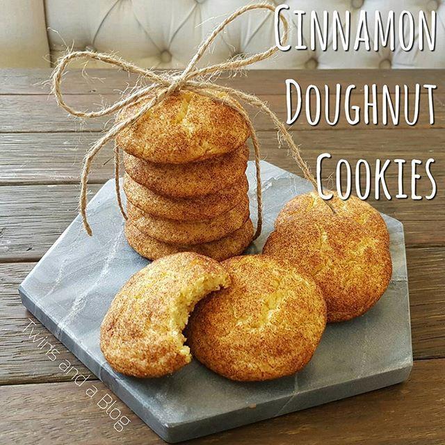 Y U M 😍🍩❤ http://twinsandablog.com.au/cinnamon-doughnut-cookies/ #twinsandablog #thermomix #thermomixaus #thermomixau #thermomixaustralia #cinnamon #doughtnut #donut #cookies #donutcookies #doughnutcookies #cinnamondoughnut #cinnamondonut #cookiemonster #food #foodblog #foodblogger #sydneyfoodblogger #sydneyblogger #mumblogger #recipe