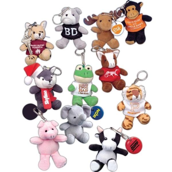 Cute Mascot Keytag Buddies from www.schoolspiritstore.com