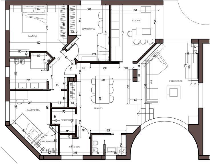 35 best images about i miei progetti su for Progetti interni case moderne