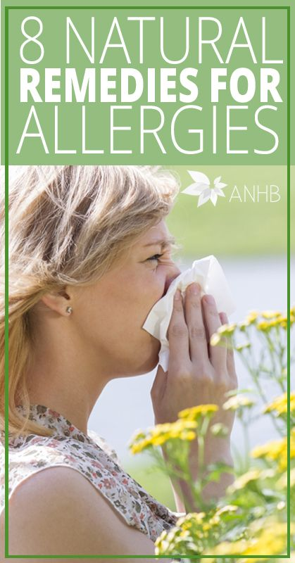 8 Natural Remedies for Allergies - All Natural Home and Beauty #naturalremedies #health #allnatural