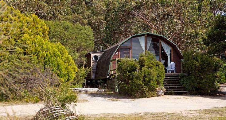 Tasmania-Bicheno Hideaway, Accommodation in Bicheno