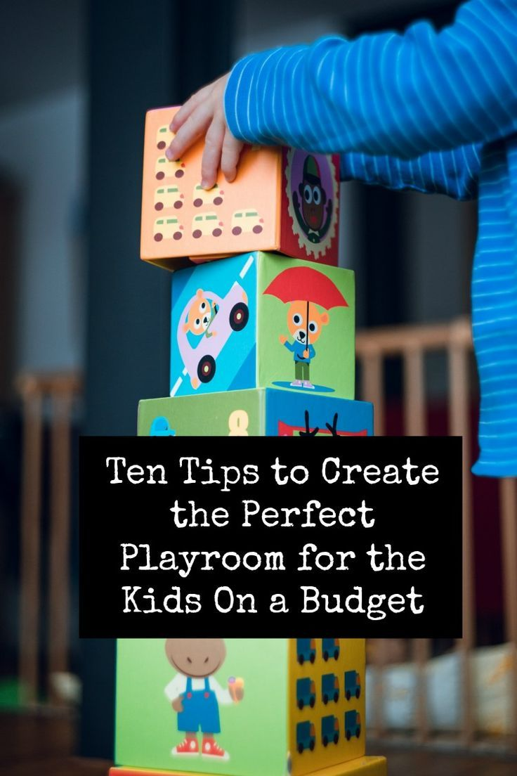 Ten Tips to Create the Perfect Playroom for the Kids On a Budget -  10 top ideas for the perfect playroom #playroom #budgetdecor #thrifty