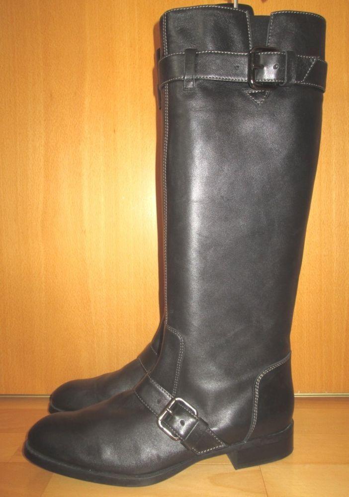 * * * TOD'S Stiefel schwarz, Gr.39,5 * * * | eBay