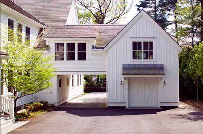 elevated breezeway to garage / studio space . D. Michael Collins, architect