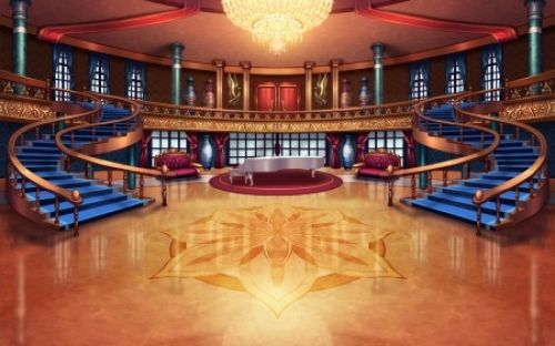 Ballroom Anime Piano Chair Pretty Sweet Ball Room