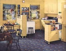 1930s kitchen. Visit: http://cdiannezweig.blogspot.com/