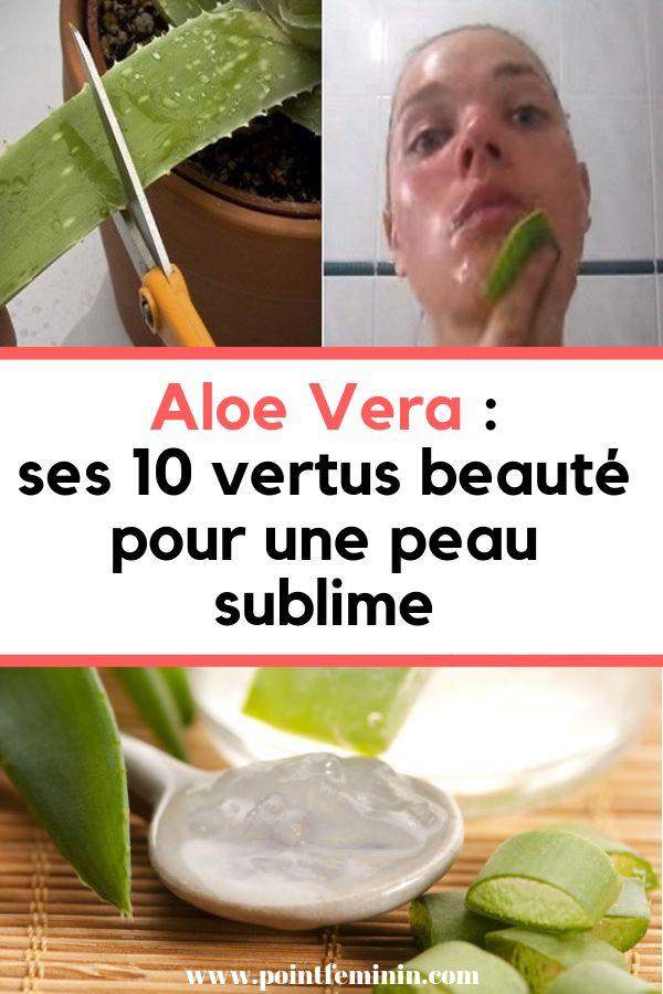 Aloe Vera : ses 10 vertus beauté pour une peau sublime