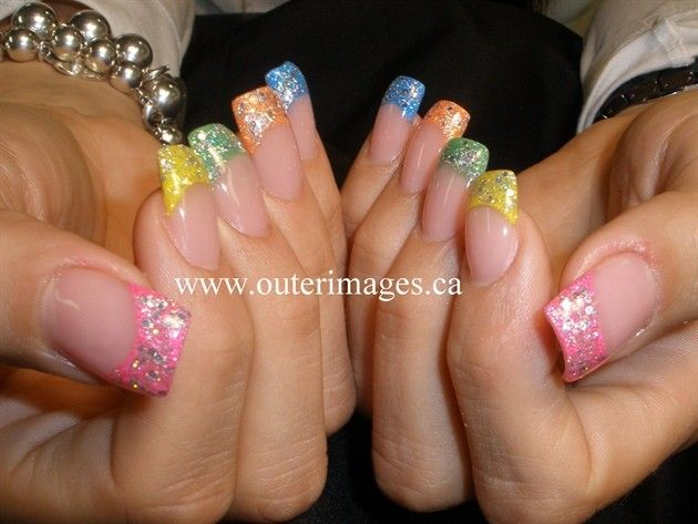 Easter Variety Nails- easter theme, Easter Nail Art, Easter Nail Designs #2014 #easter #nails www.loveitsomuch.com