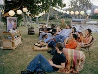 Cast of Lost, watching Lost. I love how they all seem like they were as excited to watch the show as everyone else
