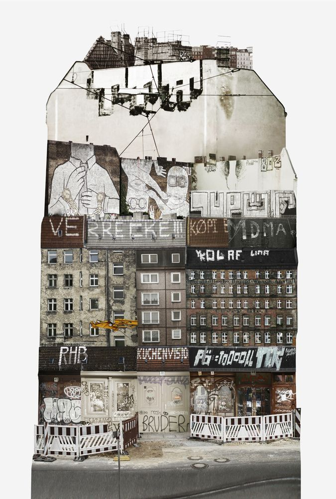 The Spirit of Cities Captured in Collage,Germany. Image Courtesy of Anastasia Savinova