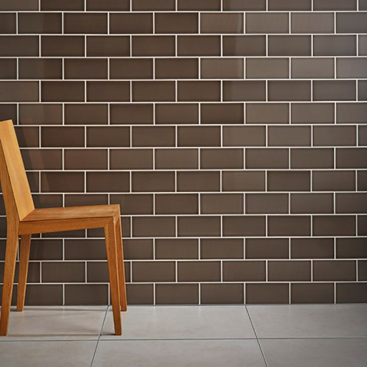 Brown Savanna Caraway Ceramic Tiles For Kitchen Wall