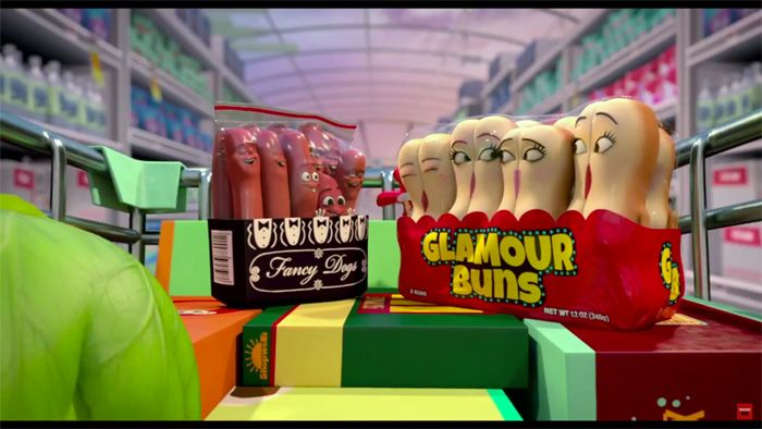 Seth Rogen R-Rated Sausage Party Trailer http://geekxgirls.com/article.php?ID=6694