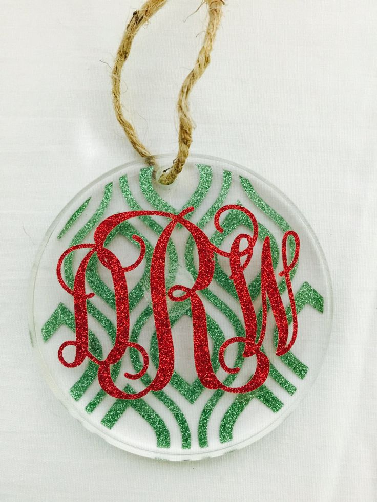 683 best Ornaments images on Pinterest  Vinyl christmas ornaments