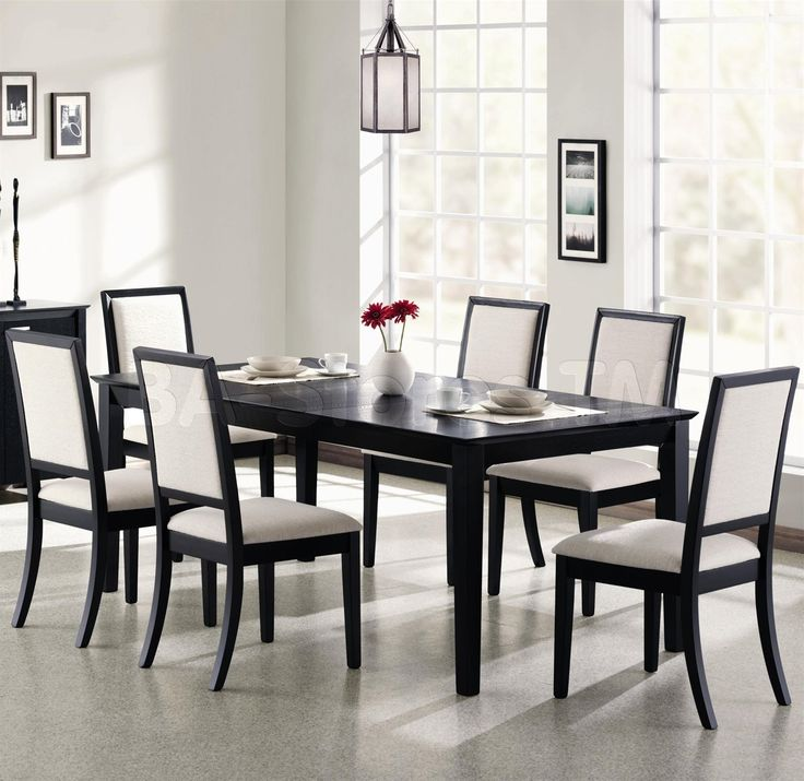 Dining Room Sets Black And White