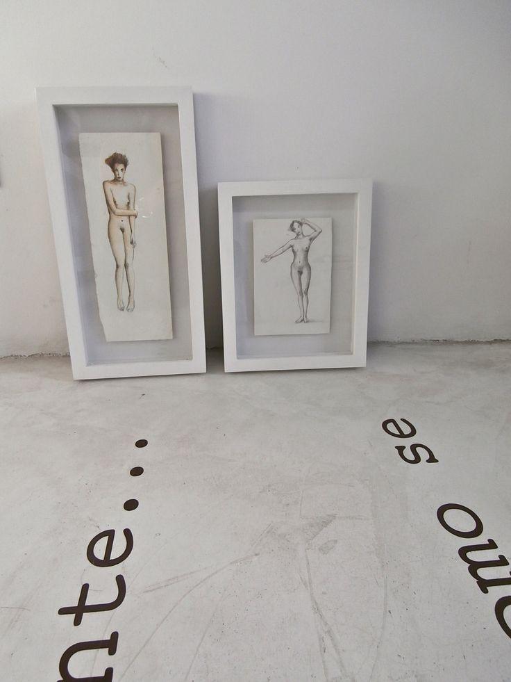 en la tienda OnA... ilustraciones de Rodrigo Isaza