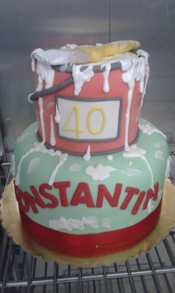 lavori in corso #torta colorata di http://www.simocakedesigner.it